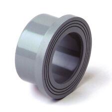 "PVC Stub Flange 32mm 1"" BSP Pipe Fitting Plain/Serrated Grey  #20A134"