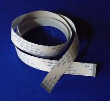 FFC A 30 Pin 0.5Pitch 100cm 1m Flachbandkabel Flat Flex Cable Ribbon FlachKabel