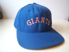 Giants Spell Out Sports Hat Blue 7 3/8 Fitted Baseball Cap