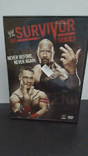 ** WWE: Survivor Series 2011 (DVD, 2011, Used) -- John Cena, Dwayne Johnson