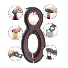 Multi Function Twist Bottle Opener All in One Jar Gripper Can Wine Lid Twist Off