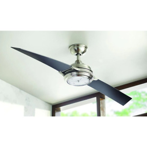 Breckenridge Ceiling Fan 56 in. Reversible-DC Motor 2-Blades 9-Speed with Remote