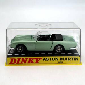 1:43 Atlas Dinky toys 110 Aston Martin Green Diecast Models Car Collection