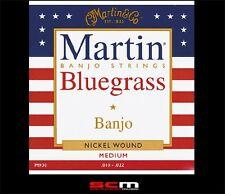 Martin M930 Banjo String Set BlueGrass PR-BR Nickelwound 10-22 Strings