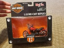 Harley-Davidson 1:18 Die-Cast Replica series 17 2002 FXDX Dyna Super Glide Sport