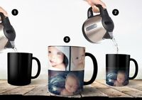Custom Magic Coffee Cup Personalized Image Photo Text Color Changing Mug Gift