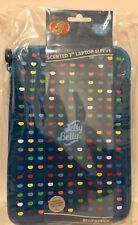 Jelly Belly Universal Neoprene Zipped Sleeve Case Cover with Scented Label for 7