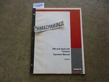 CASE 686 & Hydro 86 Tractor Operator's Manual 1084566R2