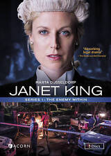 Janet King: Series 1 - The Enemy Within (DVD, 2016, 3-Disc Set)