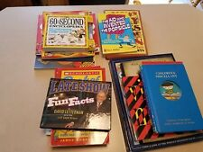 Lot of 17 Fact Magic Science Information General Knowledge Books Free Shipping