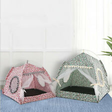 Cat Bed Foldable Small Cats Tent House Kitten for Dog Basket Beds