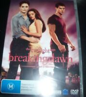 The Twilight Saga Breaking Dawn Part 1 (Australia Region 4) DVD – New