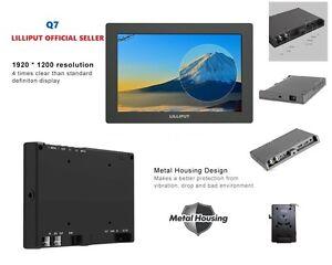 "LILLIPUT 7"" Q7  Full HD on-Camera Metal Slim SDI /HDMI cross conversion+LP-E6 Ba"