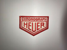 BRODERIE CHRONOGRAPH HEUER ECUSSON BADGE