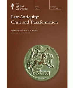 The Great Courses Late Antiquity: Crisis and Transformation NEW CD's & Book