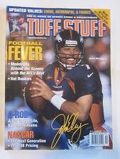 TUFF STUFF magazine - October 1998 - JOHN ELWAY DENVER BRONCOS