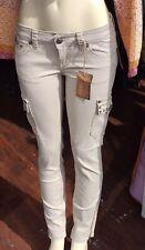 Women's Antique Rivet cargo skinny Studded Jeans  sz 28 New Msrp$105.00