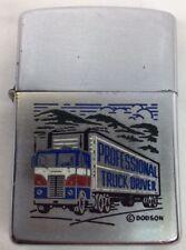 Zippo Regular 1978 Enamel Professional Truck Driver (I217)