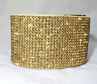 Beautiful Trendy Crystal Swarovski Element Buckle Bracelet Jewellery