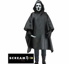 Official Scream Poncho & Mask TV Series Halloween Adult Fancy Dress Costume
