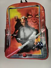 Darth Maul Backpack And Lunch Pale