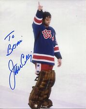 JIM CRAIG hand signed 8x10 color photo  1980 OLYMPICS MIRACLE ON ICE    TO BRIAN