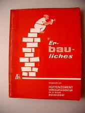 Er-bau-liches ausgesucht Hüttenzement ca. 1960? Humor