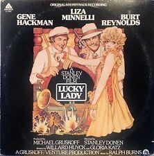 LUCKY LADY FILM SOUNDTRACK LP 1976 REYNOLDS MINNELLI HACKMAN NM!!
