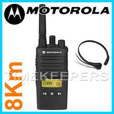 8 KM Motorola XT460 Walkie Talkie 2 IP55 a due vie PMR 446 Radio Militare Professionale