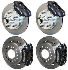"WILWOOD DISC BRAKE KIT,69-70 IMPALA,BEL AIR,CAPRICE,11"" ROTORS,BLACK CALIPERS"