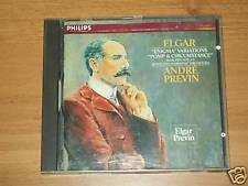 CD ELGAR-ENIGMA VARIANTIONS-PREVIN-PHILIPS-1986
