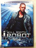 Will Smith Alex Proyas I, Robot ~2004 FANTASCIENZA ~ RARE HK DVD Copertina