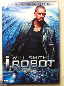 I, Robot DVD 2004 Sci-Fi Movie w/ 2-Disc Hong Kong Release w/ Slipcover Region 3