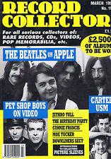 BEATLES / PET SHOP BOYS / CARTER USM / MOE TUCKERRecord Collector 151Mar1992