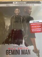 Gemini Man Best Buy Exclusive 4K UHD + Blu-ray+Digital SteelBook New & Sealed!!!