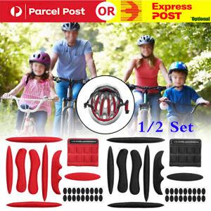 9PCS Universal Bicycle Bike Cycling Helmet Padding Kit Replacement Foam Pads Set
