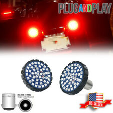 1156 Bullet Rear Red Led Turn Signal Lights For Harley Touring Dyna Motorcycles
