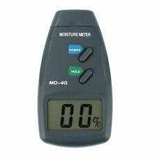 Digital Wood Moisture Meter Humidity Meter Damp Detector Tester 4 Pin LCD XB