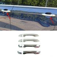 VW Golf Sportsvan 2014Up Chrome Door Handle Cover 4Door S.Steel