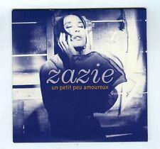 CD SINGLE (PROMO) ZAZIE UN PETIT PEU AMOUREUX