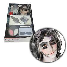Halloween Kit de Maquillaje Roto China Evil Muñeca Pintura Facial Fx Set Disfraz