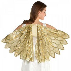 Gold Light-up Wings Costume Accessory Adult Halloween