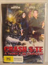 CRASH SITE A FAMILY IN DANGER DVD Charisma Carpenter Sebastian Spence