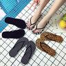 Women Casual Summer Beach Flat Thong Flip Flops Indoor Home Slippers Shoes
