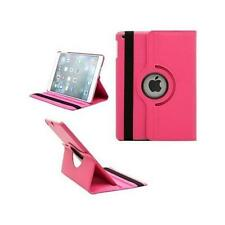 FUNDA TABLET + CRISTAL TEMPLADO IPAD 2 3 4 GIRATORIA 360º COLOR ROSA FUCSIA