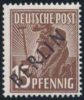 BERLIN, MiNr. 6 IV, tadellos postfrisch, gepr. Schlegel, Mi. 100,-
