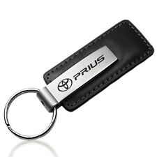 Toyota Prius Black Leather Key Chain