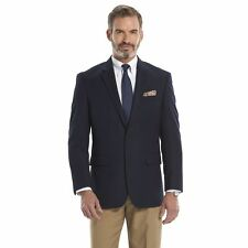 Croft & Barrow Men's Navy Blue True Comfort Classic-Fit Sport Coat  40R