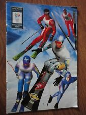 NINTENDO 64  INSTRUCTION manual BOOKLET only    NAGANO WINTER OLYMPICS 1998