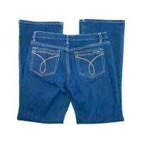 Calvin Klein Jeans 8 Flare Leg Dark Wash Blue